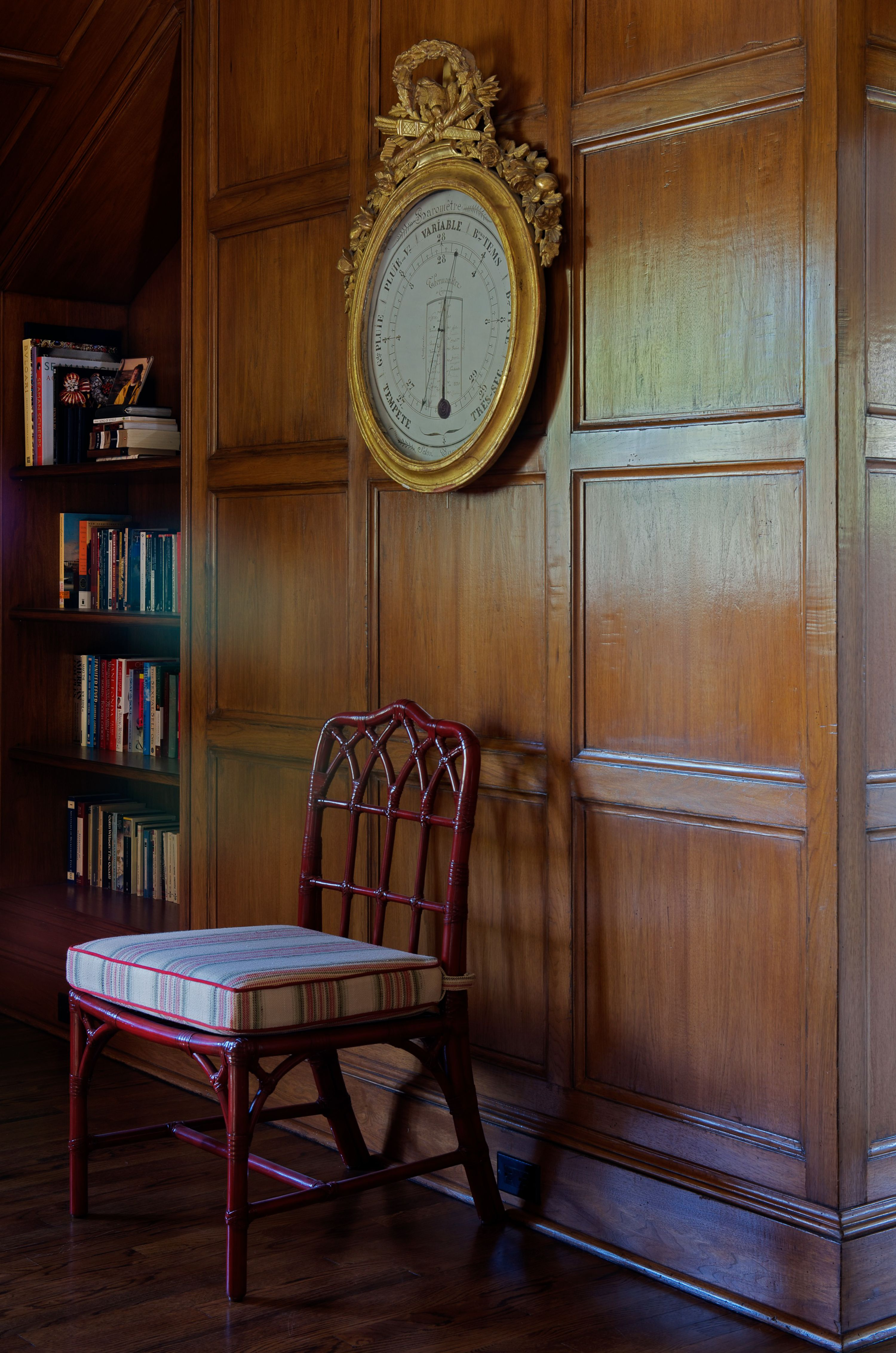 English Paneled Room: New Canaan, Ct Photographed By Jane Beiles