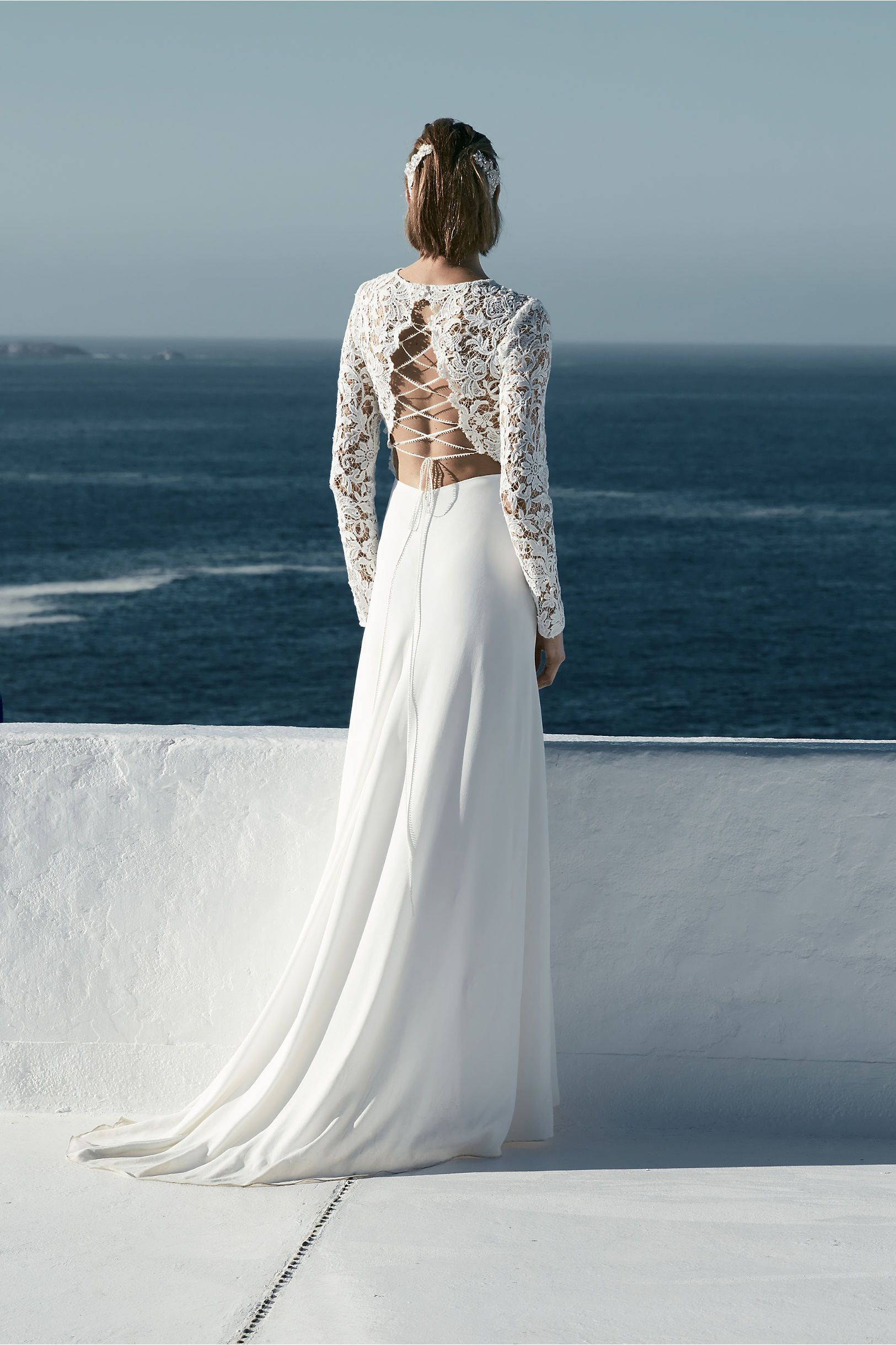 Look this gorgeous back on this BHLDN gown. Why just a wedding gown ...