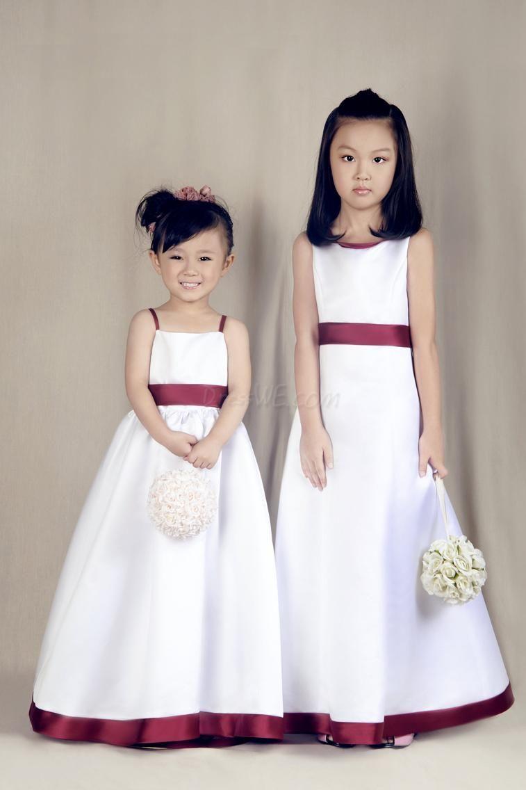 Vestido de paje para boda de nina