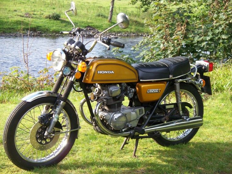 1977 Honda CB200T Motorcycle. A great little 200cc Honda ...