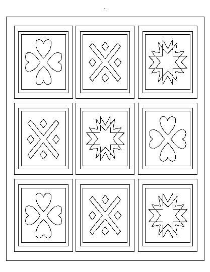 Coloring Pages Quilt Only Coloring Pages Pattern Coloring Pages Coloring Pages Free Coloring Pages