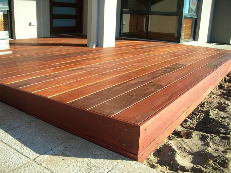 Image result for finishing edge of wood deck   DECK   Deck ...