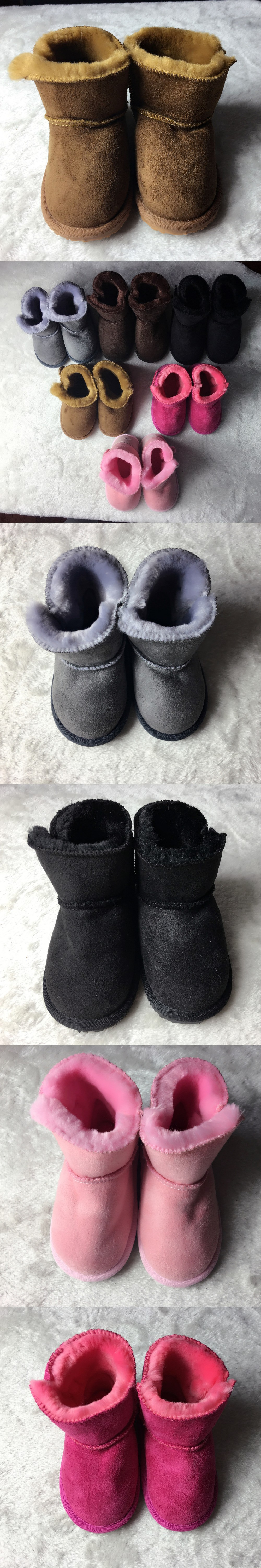 High quality winter very warm Baby snow boots handmade Toddler ...