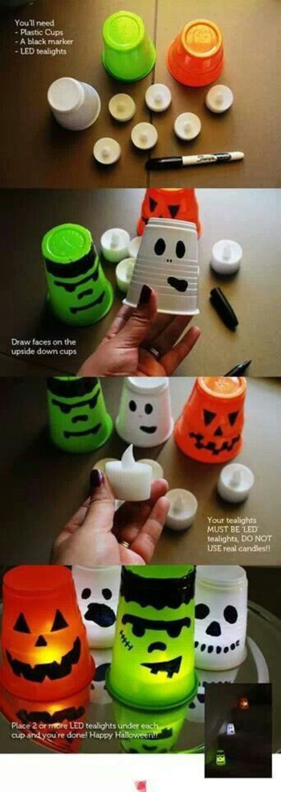 40 Easy to Make DIY Halloween Decor Ideas Pinterest Halloween - Pinterest Halloween Decorations