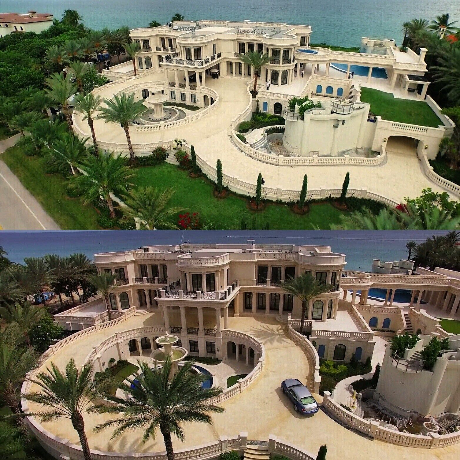 Front Side Of Pls Black House Luxury Homes Dream Houses Dream House Exterior Luxury House Plans