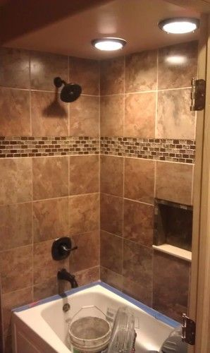 Custom Tile Designs By Gpb Modern Bathroom Tile Detroit Gpb Builders