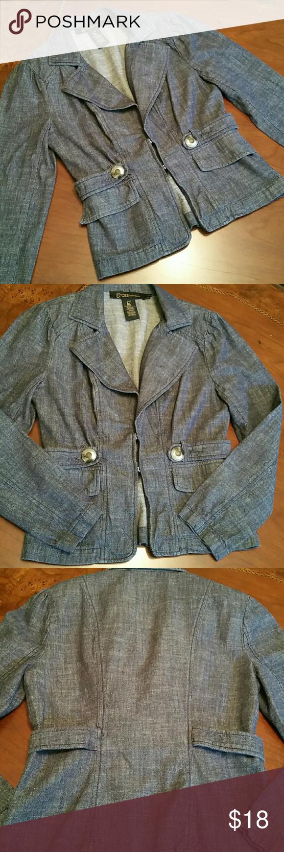 Denim blazer Denim blazer Jackets & Coats Blazers