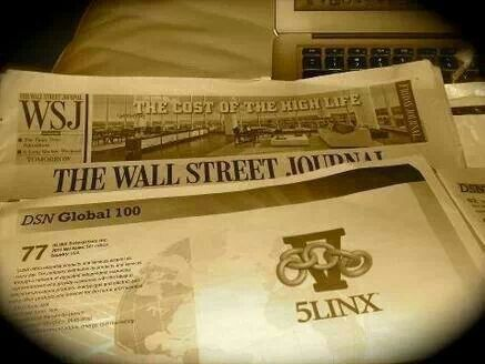 5linx article in the wall street journal 5linx wall on wall street journal online id=30959