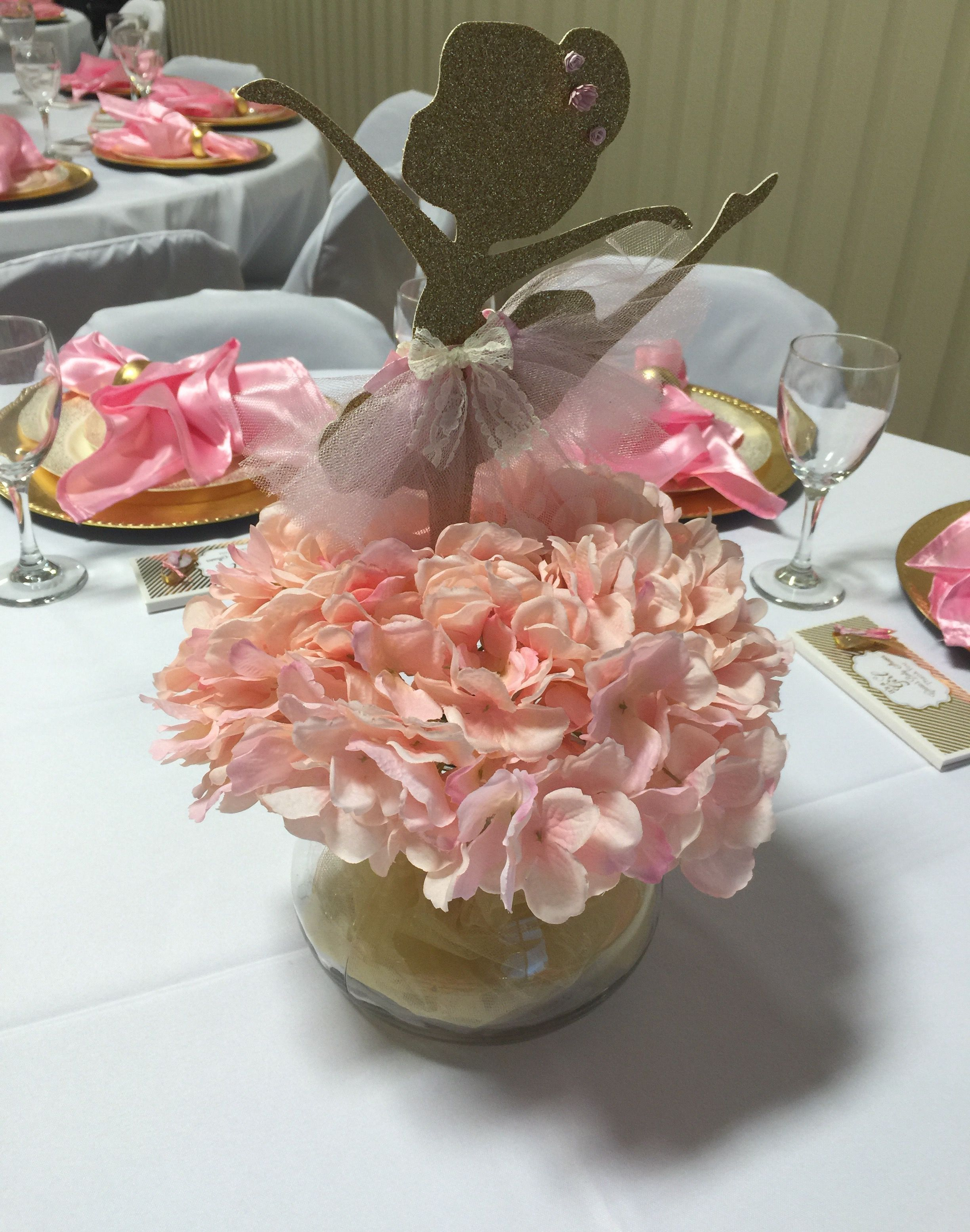 Ballerina Centerpieces Ideas