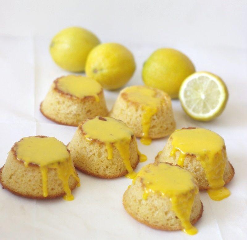 Appelsiineja ja Hunajaa:sitruunaiset polentakakkuset