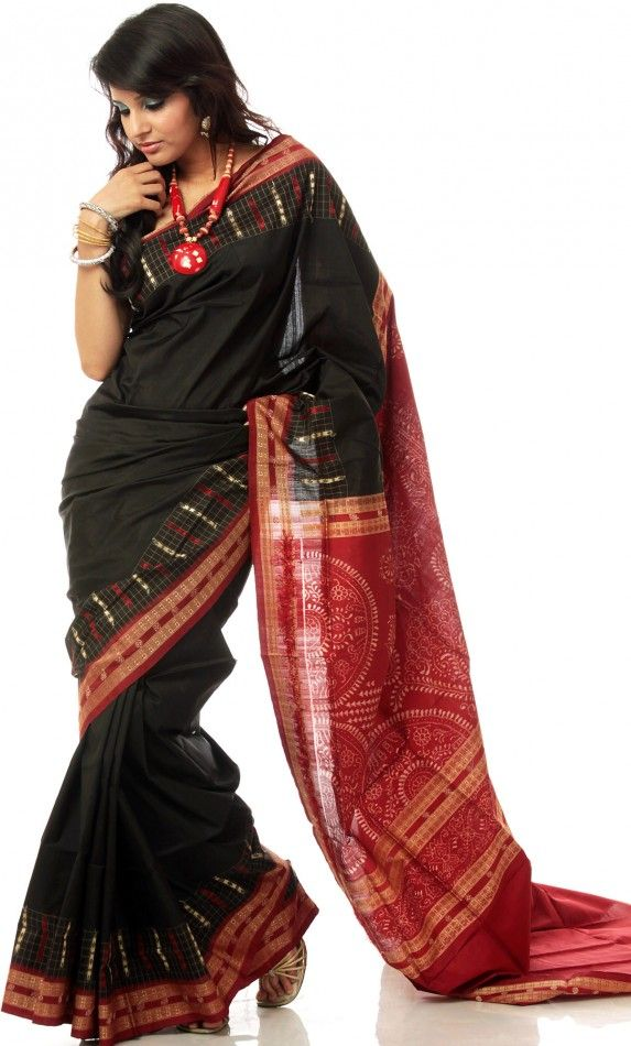 263486733f4 The Gorgeous Bomkai Saree from Orissa. The Gorgeous Bomkai Saree from Orissa  Baluchari Saree