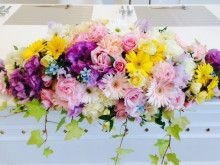 結婚式の会場装花ラプンツェル Tangled Wedding 会場 装 花