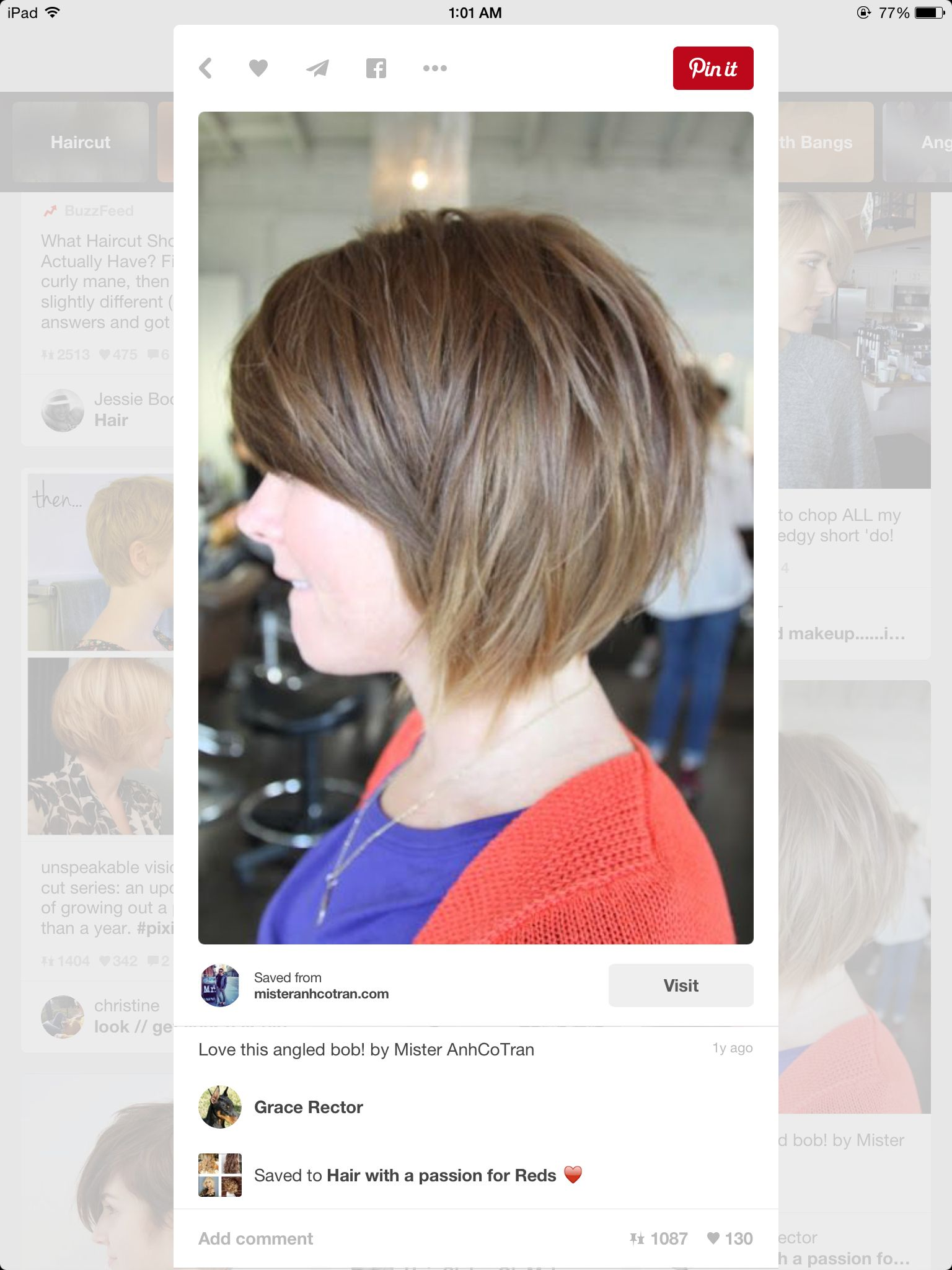Pin by bridget schneider on beauty pinterest haircut styles