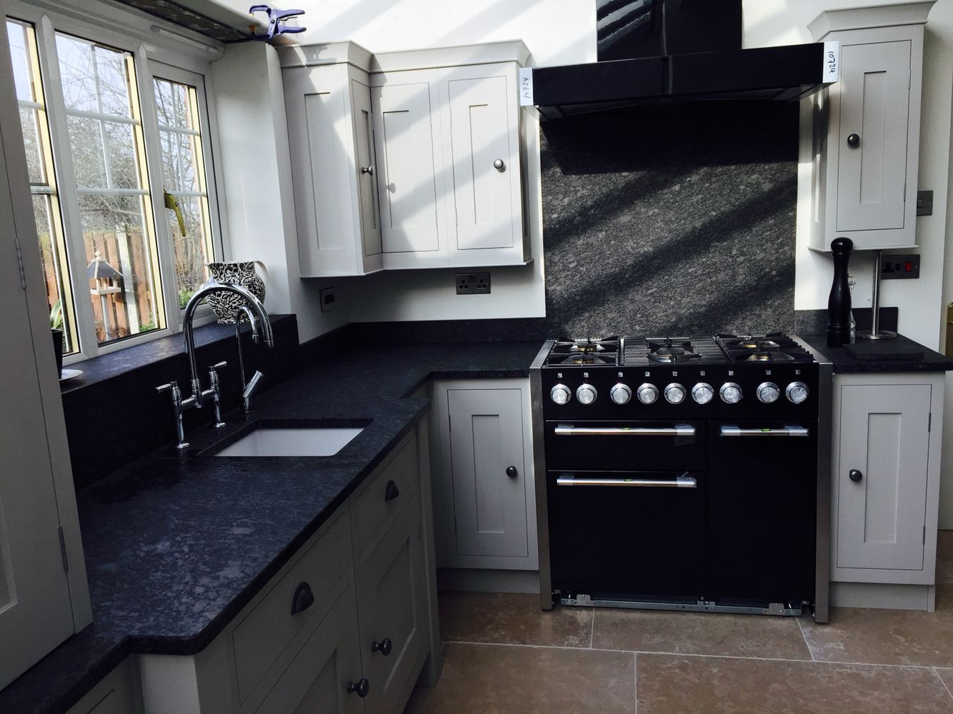 Best Hand Panted Kitchen In Farrow And Ball Purbeck Stone With 640 x 480