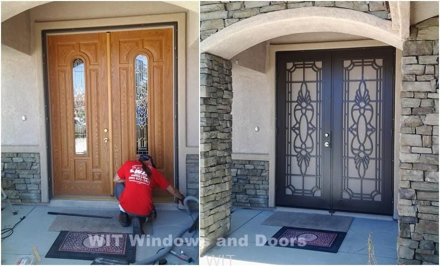 Attractive Double Security Doors   Google Search