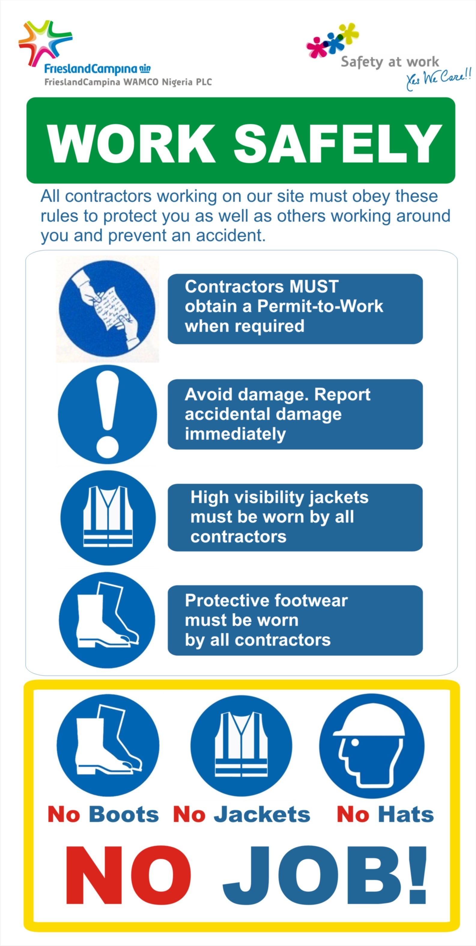 Pin By Oluwashina Atere On Safety Health And Safety Poster Occupational Health And Safety Occupational Safety