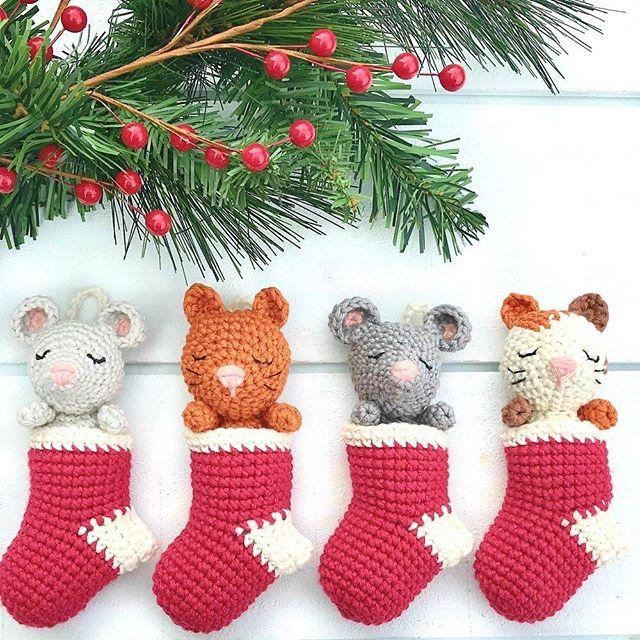 Crochet Bunny ornament Crochet Rabbit ornament Amigurumi   Etsy   640x640