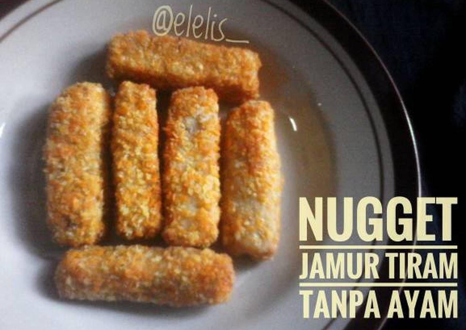 Resep Nugget Jamur Tiram Tanpa Ayam Oleh Elis Resep Jamur Makanan Enak Makanan