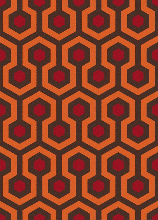 Shining Carpet Sixteen Tiles This Is From A Blog It References The Carpet On Which A Child Plays In A K Hotel Carpet Overlook Hotel Carpet Patterned Carpet