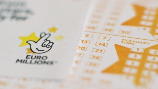 UK ticket wins £71m on Euromillions National lottery