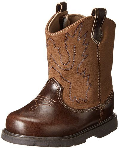 d713e7673eaa4 Baby Deer Western Western Boot (Infant/Toddler),Brown,10 M US ...