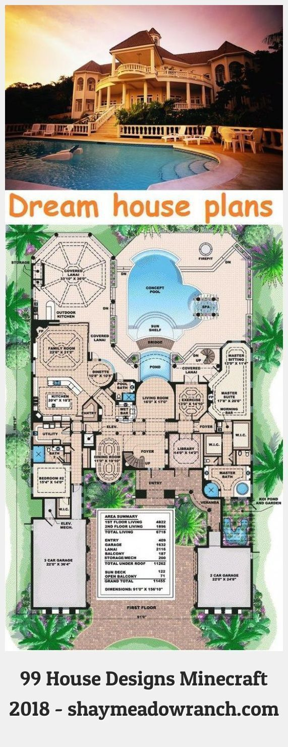 Minecraft Houses Blueprints