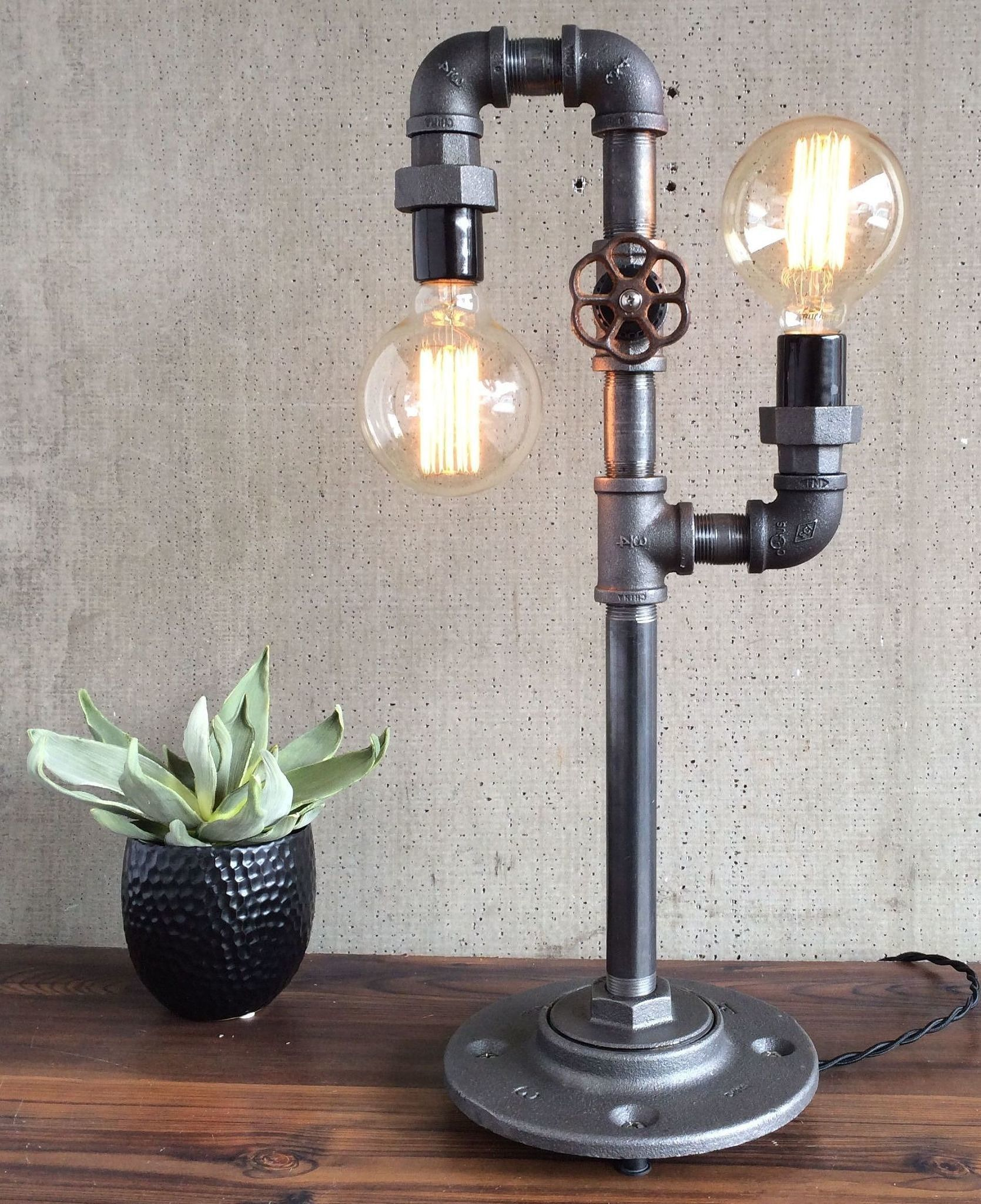 lot poles floating your base fog small lumber lamp accentuate night pipe simple column bench accents combined plus ideas support light with black paper painted also grey wall iron adjustable standing lavish shade table bowl lamps up parking and well featuring rocket floor motive as golden