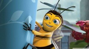 Barry B Benson In Bee Movie Wallpaper