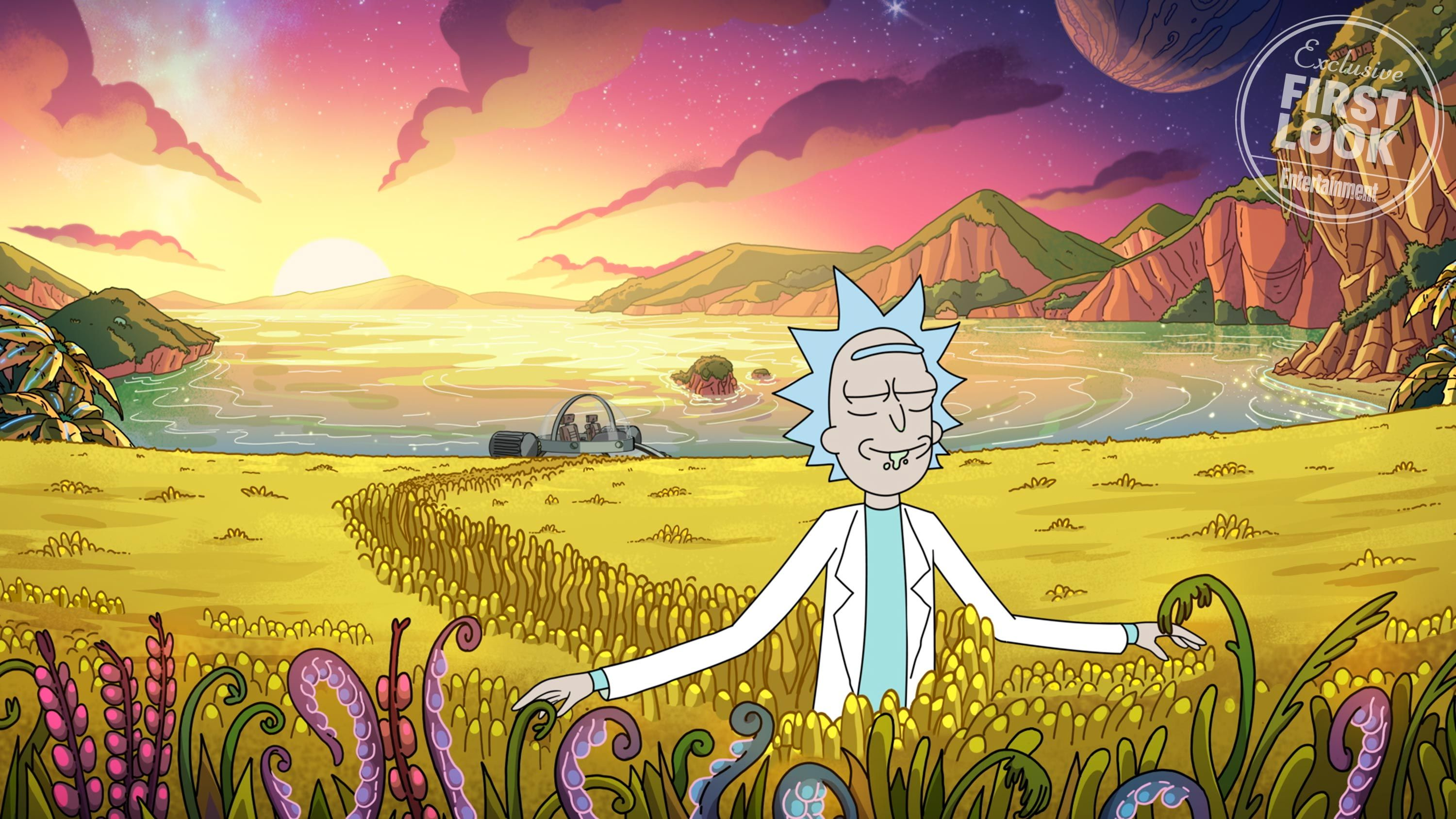 Rick And Morty First Photos From Season 4 Revealed Rick And Morty Poster Rick And Morty Season Wallpaper Pc