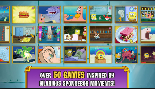 Download SpongeBob's Game Frenzy apk mod for Android (unlock