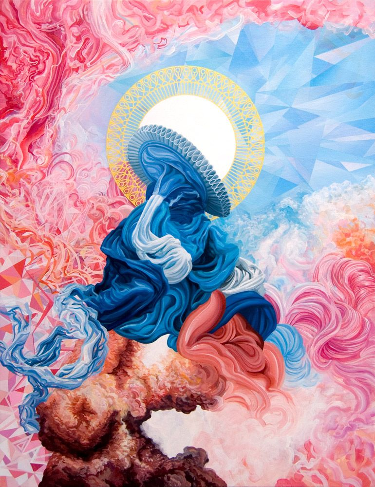 The Involuted Explicator (The Vibrant & Colorful Works of James Roper on CrispMe)