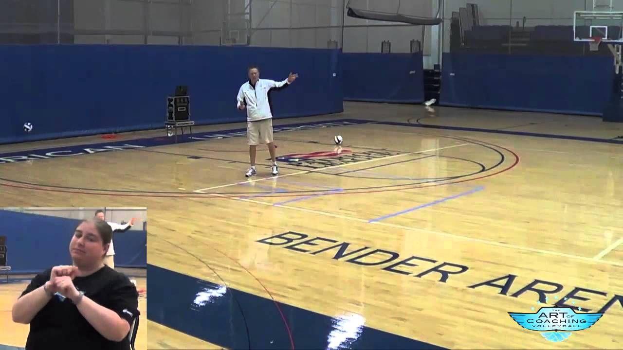 Pocket Radar Volleyball Serving Drill Art Of Coaching Voleibol