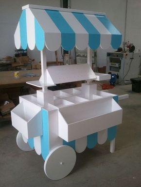 Resultado de imagen para candy bar carrito