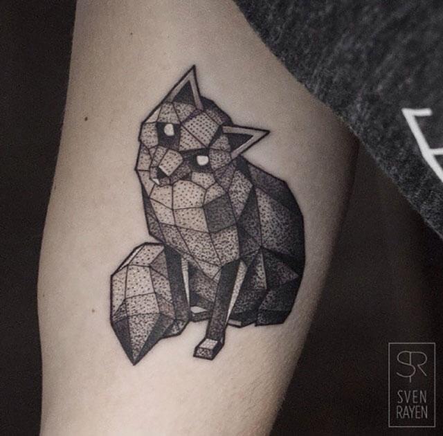 Idée tatouage renard origami Animaux Géométriques, Dessins De Tatouage Pour  Hommes, Beaux Tatouages,