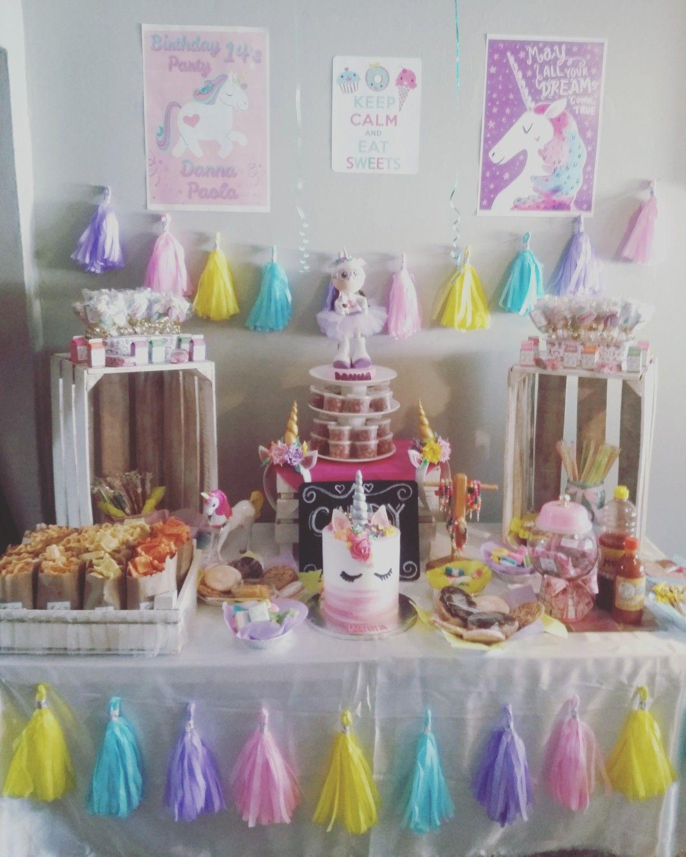 mesa de snacks unicornio hecho a mano dise o creaactiva