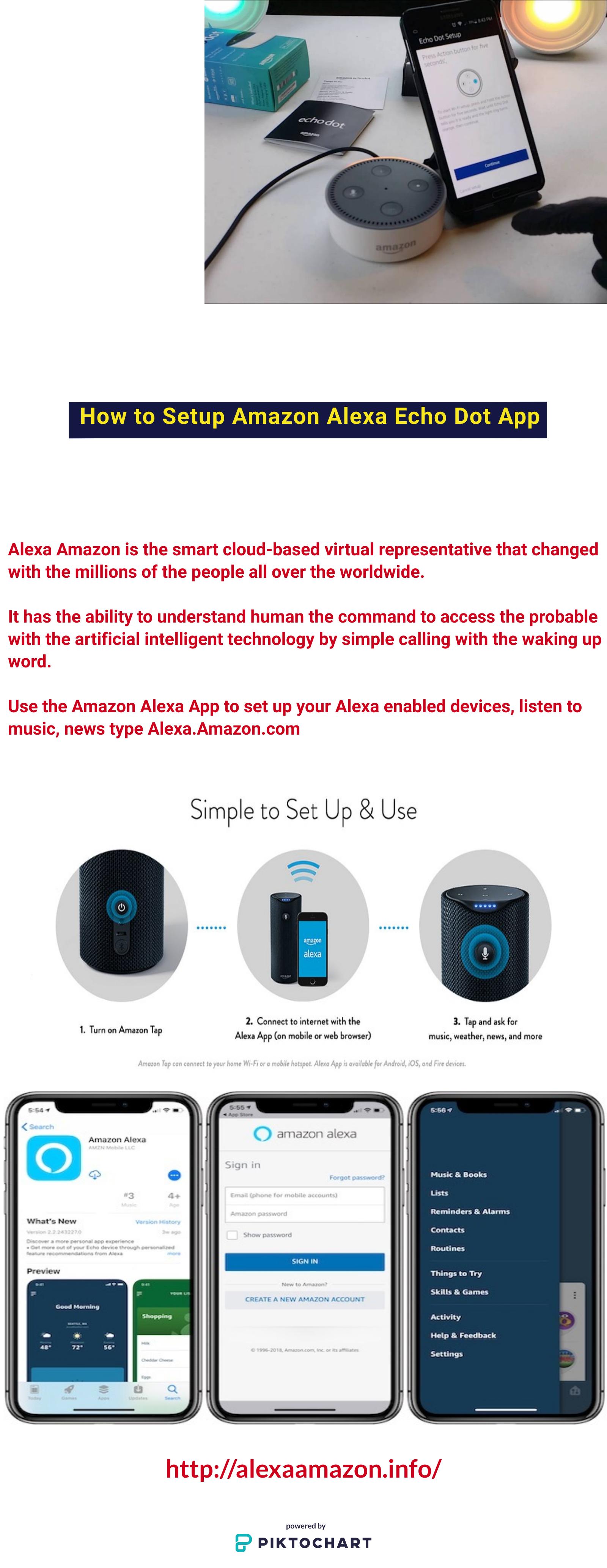 How To Setup Amazon Alexa Echo Dot App Amazon Alexa Echo Dot Dot App Alexa Echo