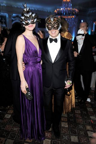 4e0f9cdc6bc5 The Save Venice Ball and the 39th Annual Chaplin Gala Rose Dergan and Will  Cotton.