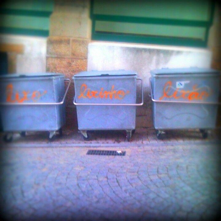 Lixo-Lixinho-Lixão