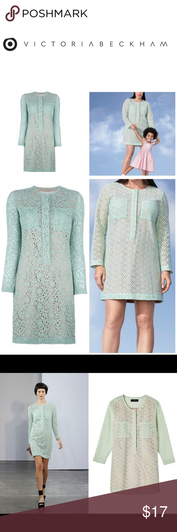 Victoria Beckham For Target Long Sleeve Lace Dress Long Sleeve Lace Dress Lace Dress Long Sleeve Lace [ 1740 x 580 Pixel ]