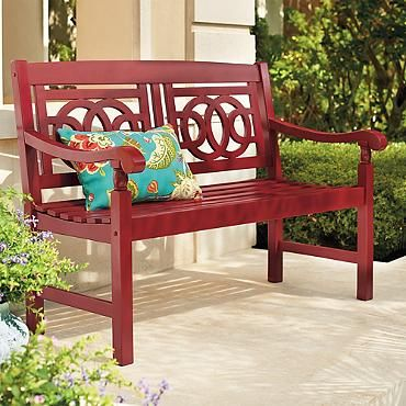 Amalfi Bench Garden Front Porch Bench Bench Outdoor