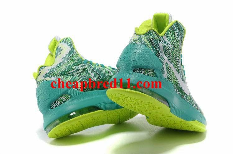 Nike KD V Christmas Lime Gree Volt Turquoise  00374ccd18