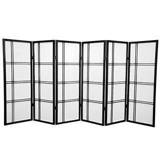 Beige Wood and Bamboo Take Free-standing Room Divider Screen (China) | Overstock.com Shopping - The Best Deals on Decorative Screens