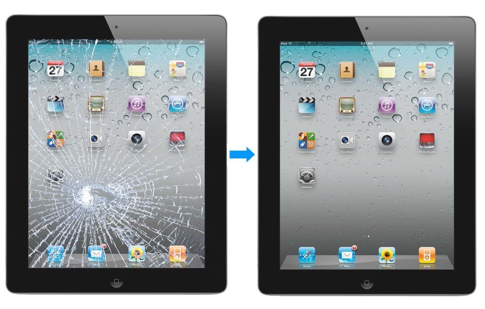 Wow Only 89 Apple Ipad 2 Cracked Glass Screen Digitizer Repair Service Ipad Repair Screen Repair Apple Repair