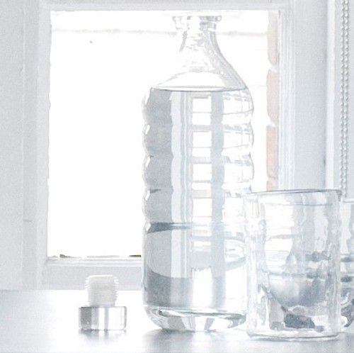 water bottle for guests