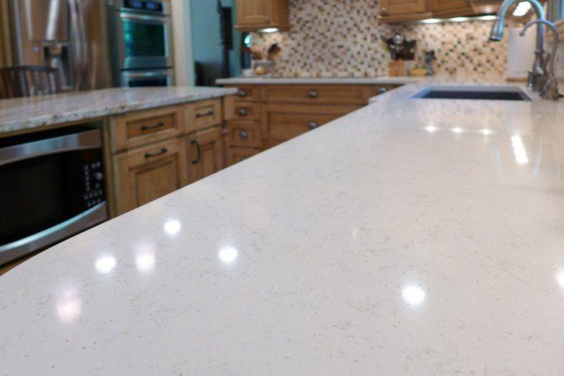 Vortium silestone quartz countertop mountain cabin - Silestone showroom ...