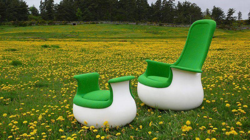 Marc Held Culbuto Chair \ Ottoman Les Chaises Pinterest - design schaukelstuhl beton paulsberg