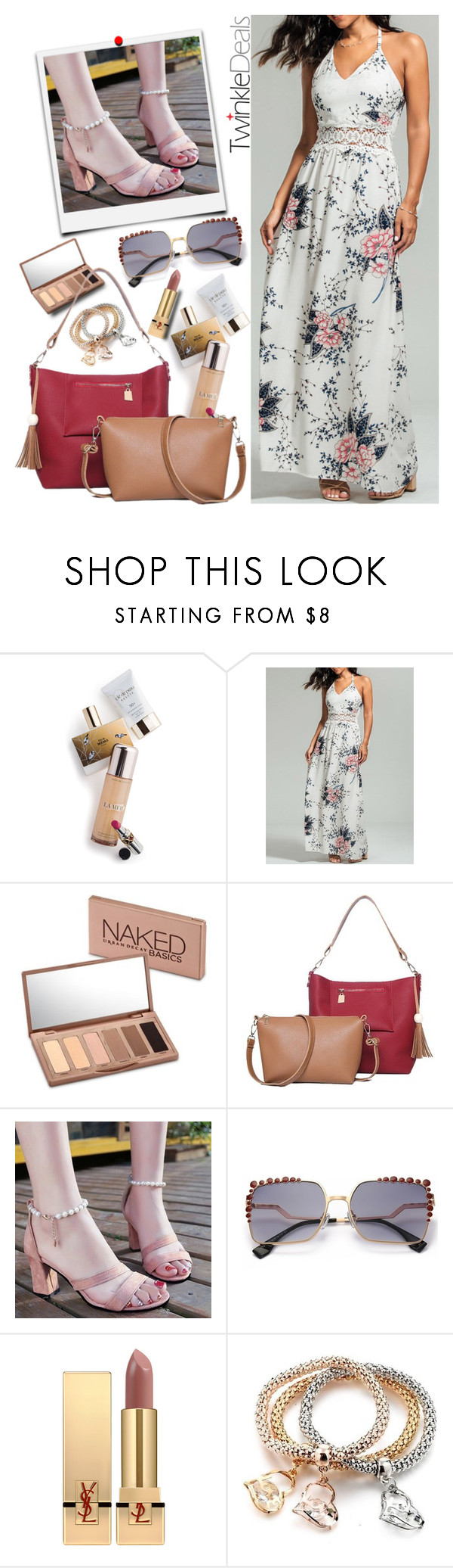 """""""dress by twinkledeals"""" by teto000 ❤ liked on Polyvore featuring Memo Paris, Urban Decay and Yves Saint Laurent"""