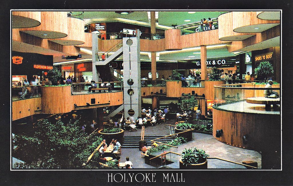 Holyoke Mall at Ingleside Postcard, circa 1979 Calling
