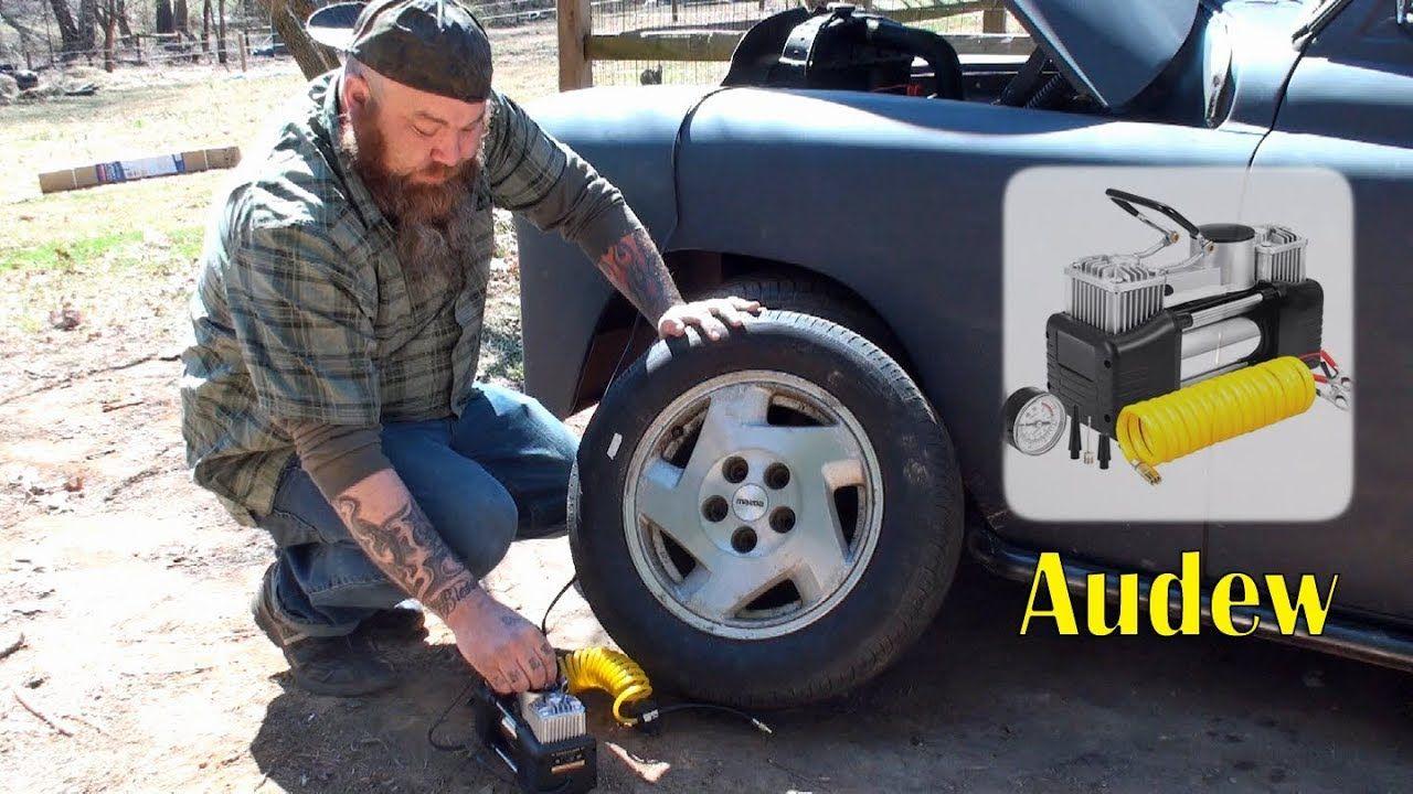 AUDEW PORTABLE AIR COMPRESSOR PUMP (Tire Inflation) FAST
