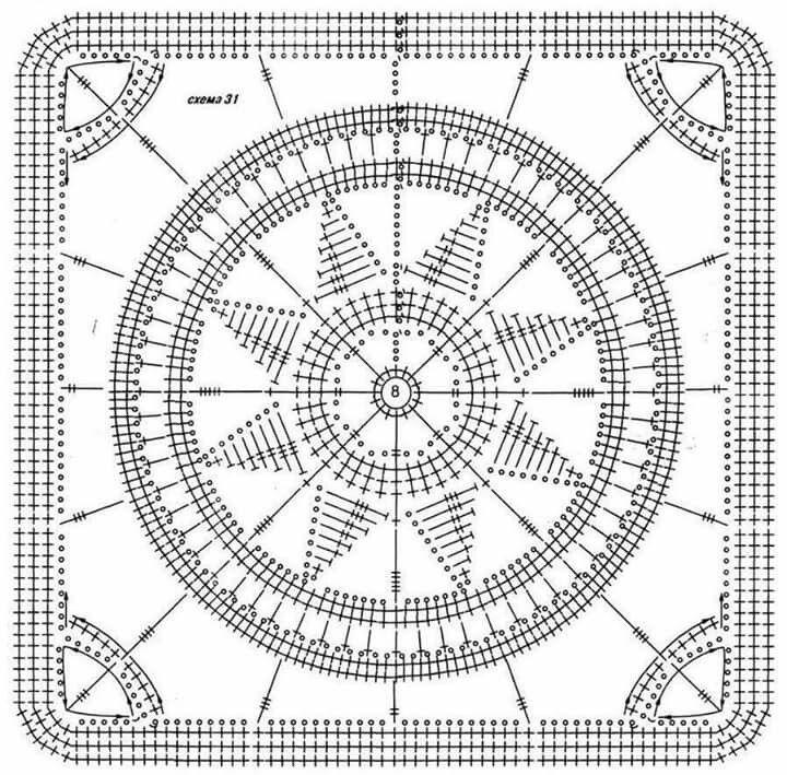 Pin de Rocío González en Patrones crochet | Pinterest | Cuadrados de ...